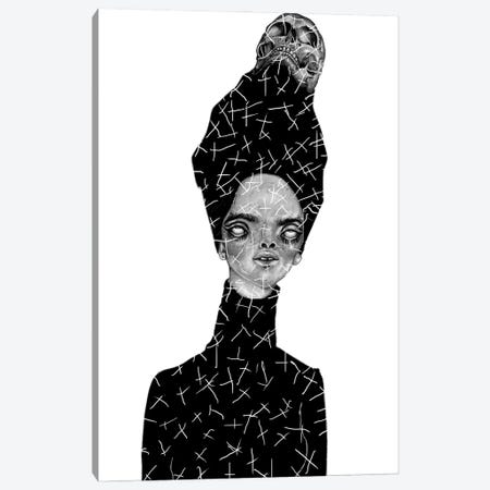 Death Becomes Her Canvas Print #JWY16} by Jowy Maasdamme Art Print