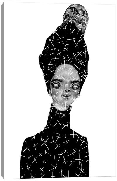 Death Becomes Her Canvas Art Print