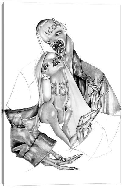 Illustrastion Magazine Canvas Art Print