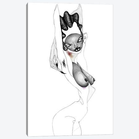 Its My Pleasure II Canvas Print #JWY9} by Jowy Maasdamme Canvas Wall Art