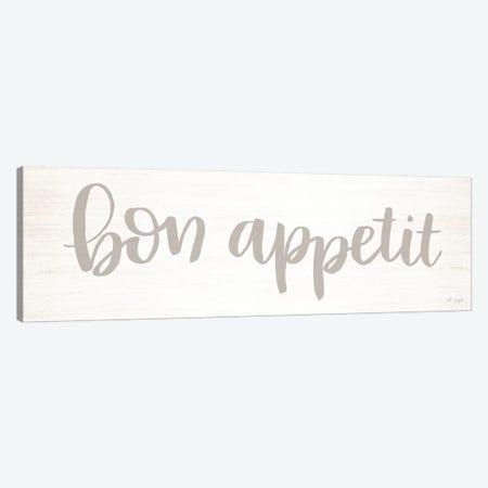 Bon Appetit Canvas Print #JXN10} by Jaxn Blvd. Canvas Print