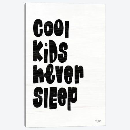 Cool Kids Never Sleep Canvas Print #JXN114} by Jaxn Blvd. Canvas Art
