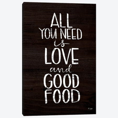 Good Food Canvas Print #JXN124} by Jaxn Blvd. Art Print