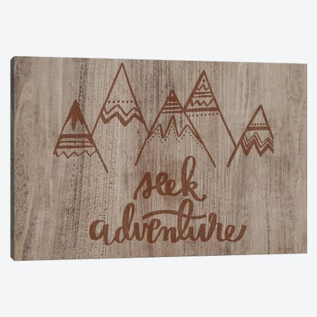 Seek Adventure Canvas Print #JXN130} by Jaxn Blvd. Canvas Print