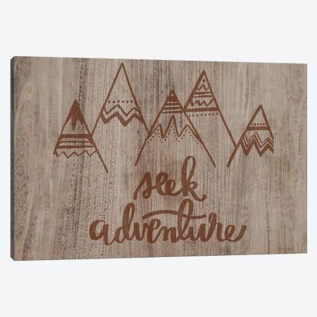 Seek Adventure Canvas Print #JXN130} by Jaxn Blvd. Canvas Print