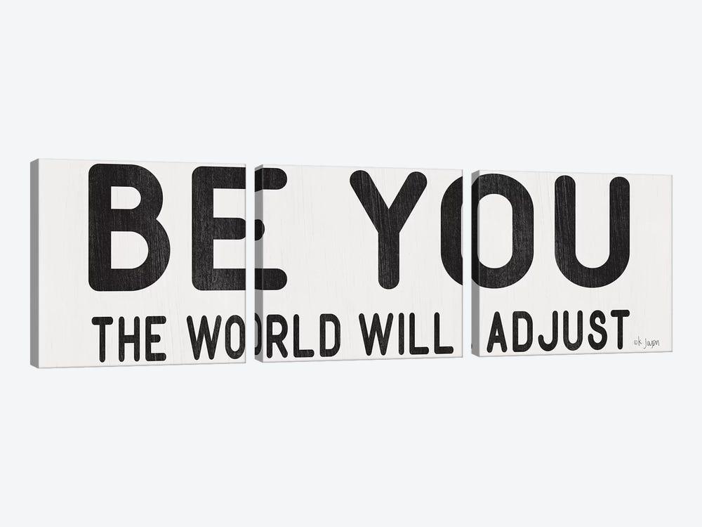 The World Will Adjust by Jaxn Blvd. 3-piece Art Print