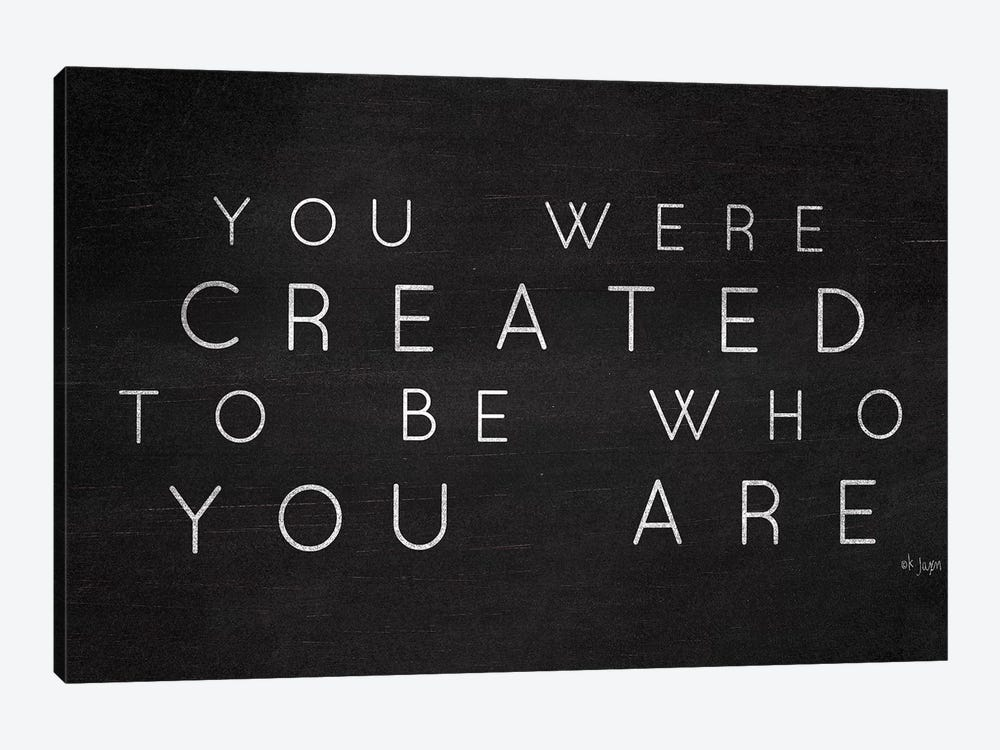 Be Who You Are by Jaxn Blvd. 1-piece Canvas Artwork