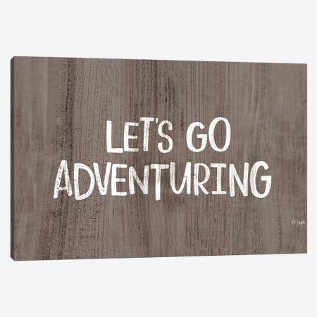 Let's Go Adventuring Canvas Print #JXN149} by Jaxn Blvd. Canvas Art