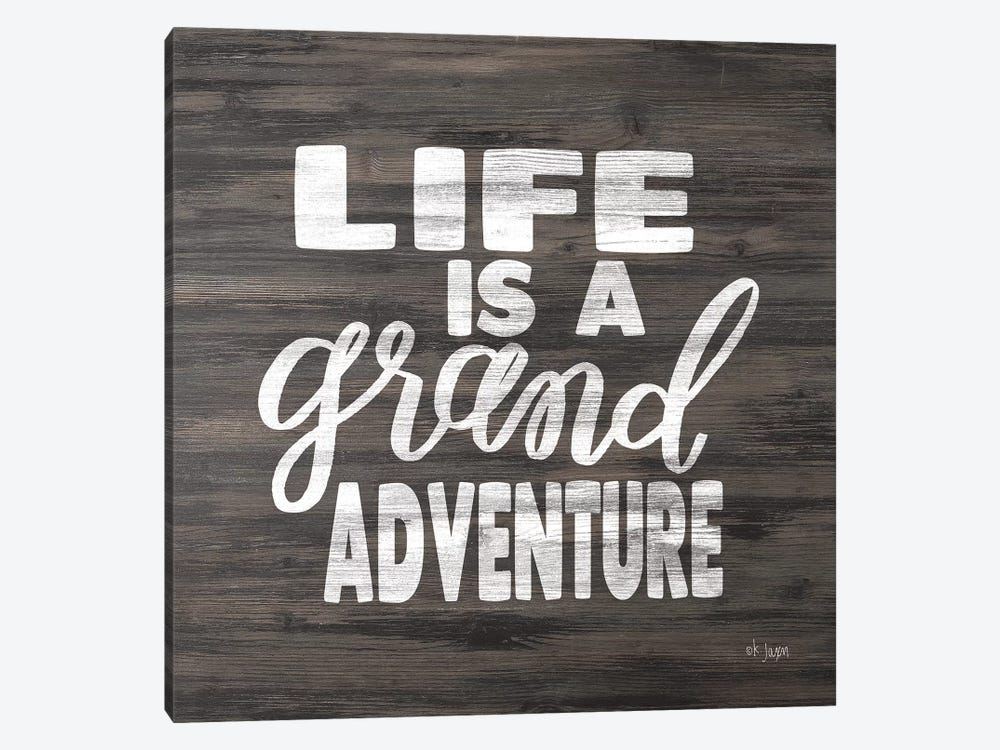 Life is a Grand Adventure by Jaxn Blvd. 1-piece Canvas Art