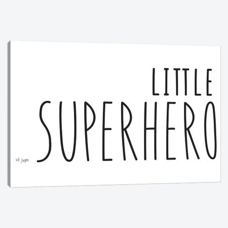 Little Superhero Canvas Print #JXN152} by Jaxn Blvd. Art Print