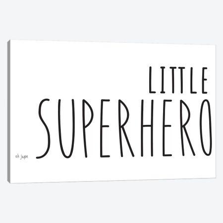 Little Superhero Canvas Print #JXN152} by Jaxn Blvd. Art Print