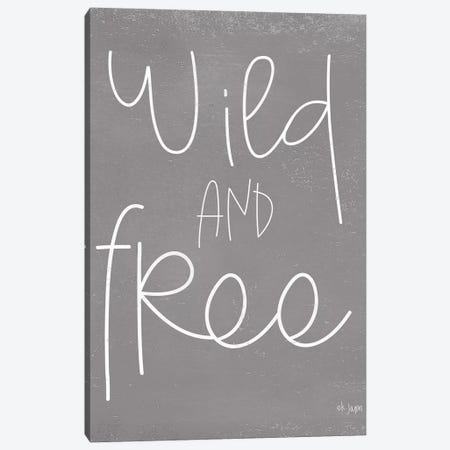 Wild and Free Canvas Print #JXN160} by Jaxn Blvd. Canvas Wall Art