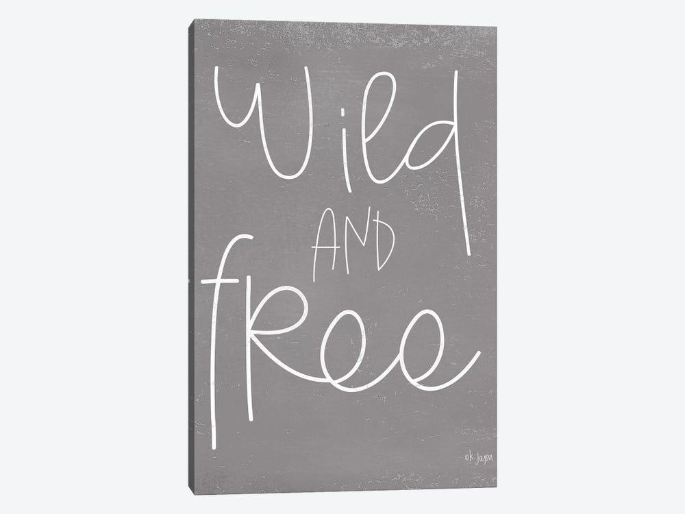 Wild and Free by Jaxn Blvd. 1-piece Canvas Art Print