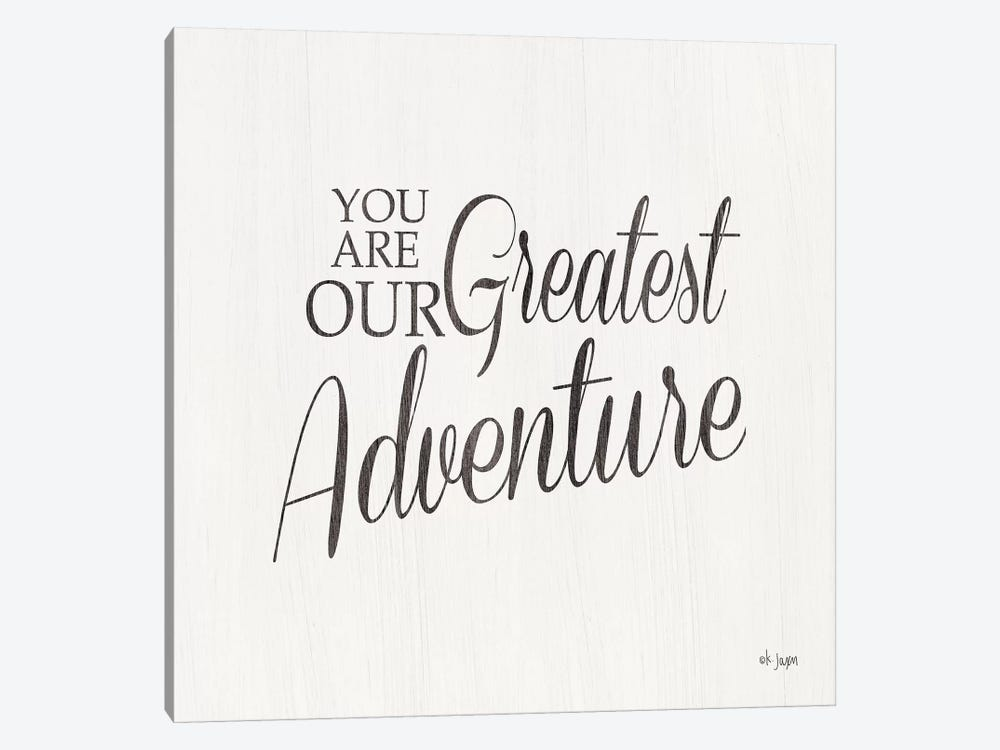 You Are Our Great Adventure by Jaxn Blvd. 1-piece Canvas Artwork