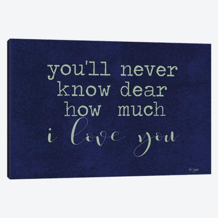 You'll Never Know… Canvas Print #JXN177} by Jaxn Blvd. Canvas Wall Art