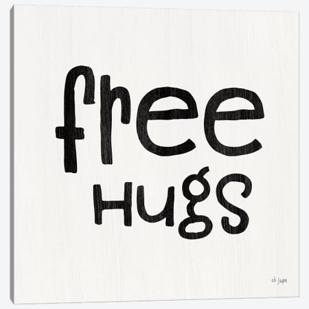 Free Hugs     Canvas Print #JXN191} by Jaxn Blvd. Art Print