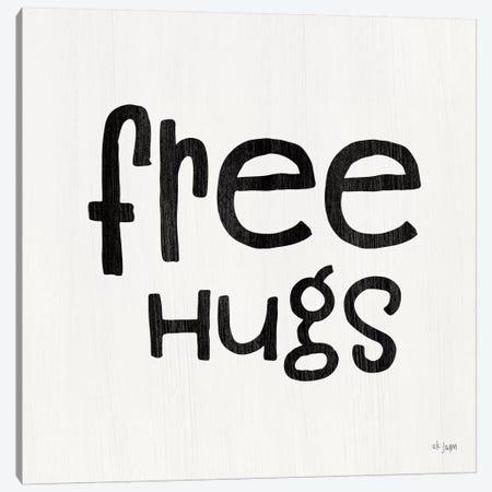 Free Hugs     Canvas Print #JXN191} by Jaxn Blvd. Art Print
