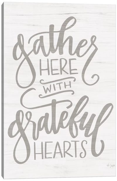 Gather Here     by Jaxn Blvd. Canvas Art Print
