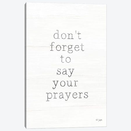 Say Your Prayers 3-Piece Canvas #JXN216} by Jaxn Blvd. Art Print