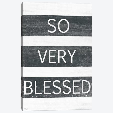 So Very Blessed Canvas Print #JXN217} by Jaxn Blvd. Canvas Print
