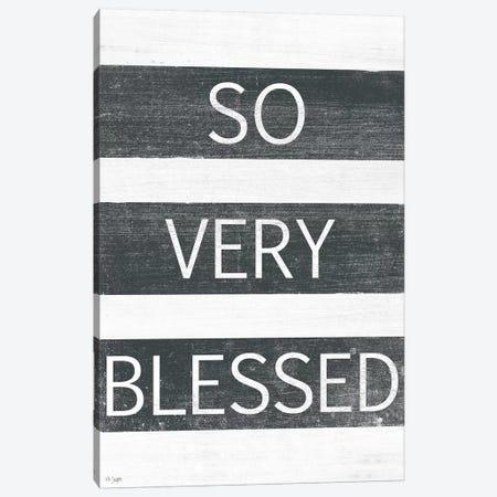 So Very Blessed Canvas Print #JXN217} by Jaxn Blvd. Canvas Print