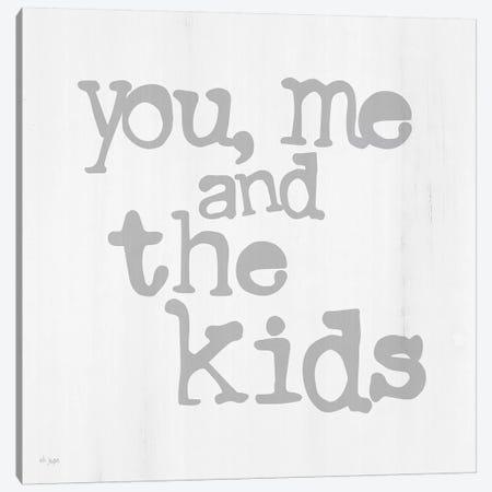You, Me And The Kids Canvas Print #JXN234} by Jaxn Blvd. Canvas Art Print