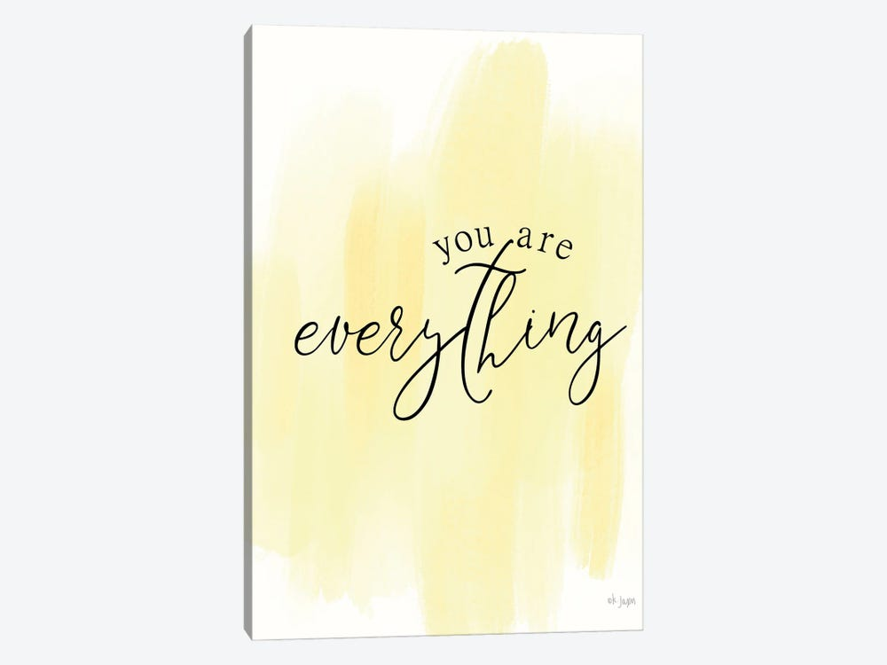 You Are My Everything by Jaxn Blvd. 1-piece Canvas Artwork
