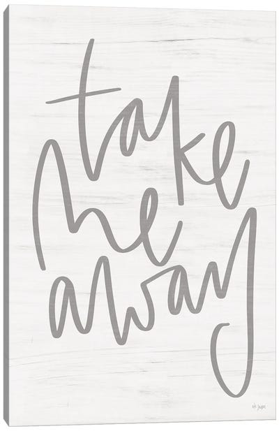Take Me Away Canvas Art Print