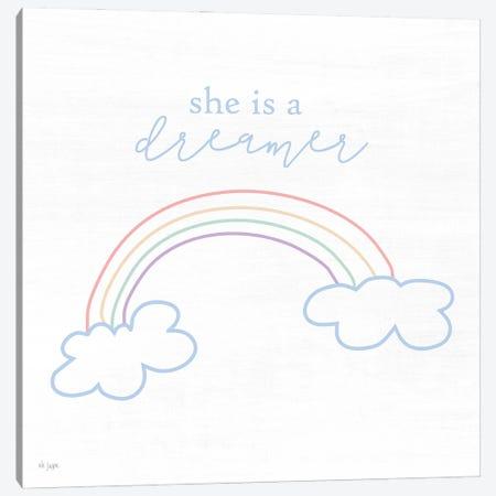 She is a Dreamer Canvas Print #JXN249} by Jaxn Blvd. Canvas Art Print