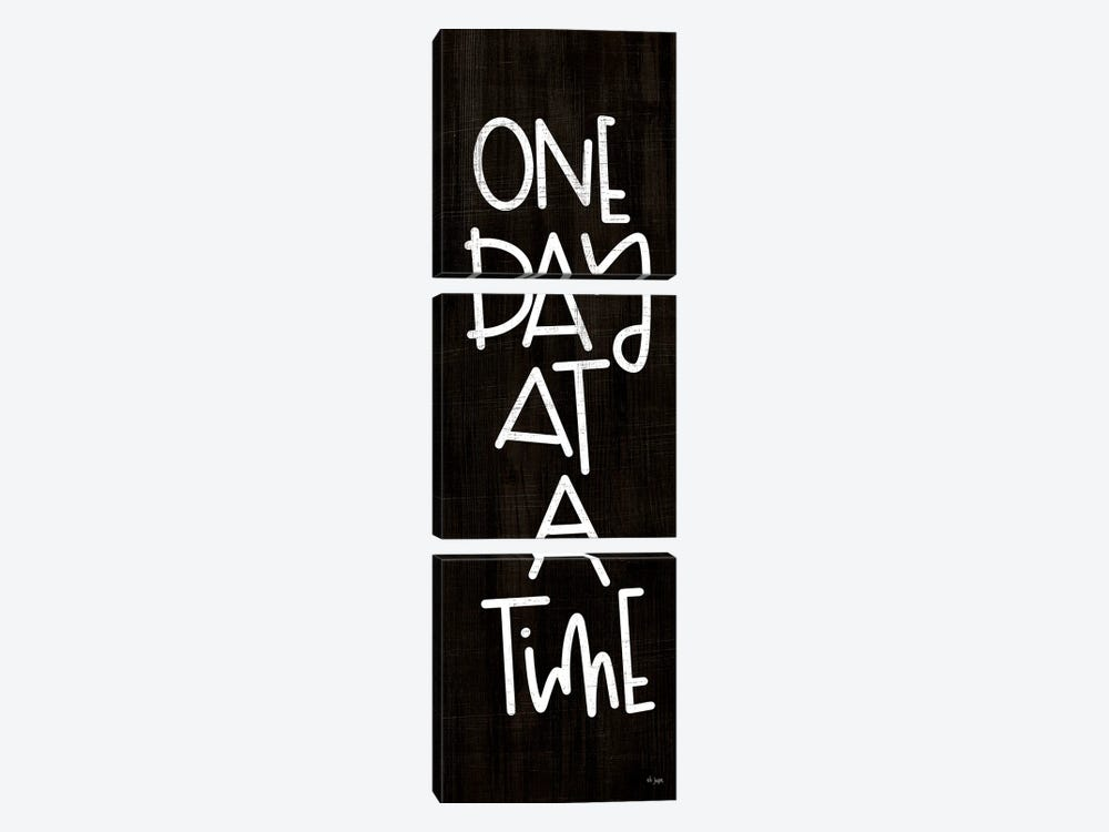 One Day At A Time by Jaxn Blvd. 3-piece Canvas Artwork