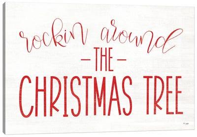 Rocking Around The Christmas Tree Canvas Art Print