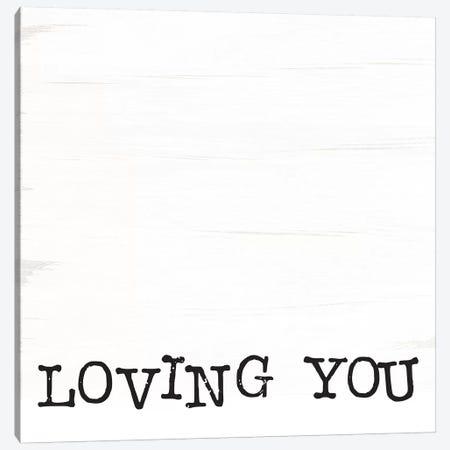 Loving You Is Easy I Canvas Print #JXN27} by Jaxn Blvd. Canvas Art Print