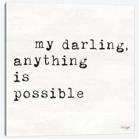 My Darling Canvas Print #JXN32} by Jaxn Blvd. Canvas Print