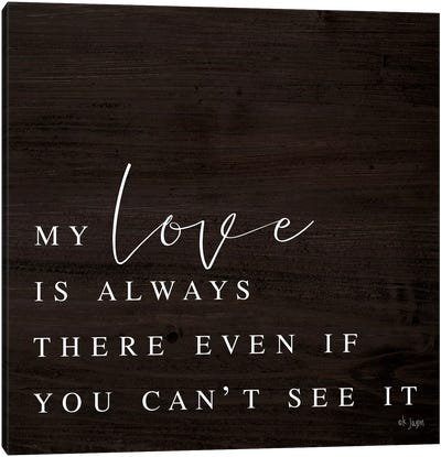 My Love by Jaxn Blvd. Canvas Art Print