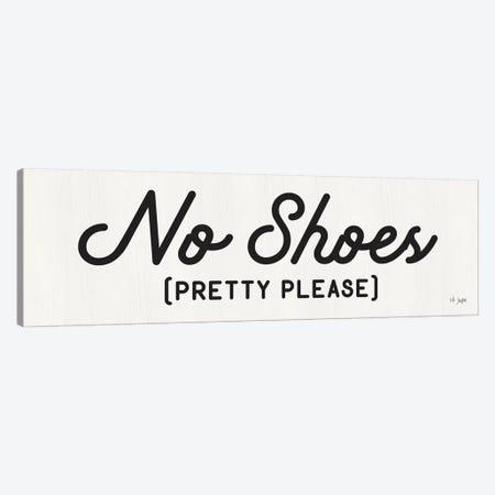 No Shoes Canvas Print #JXN34} by Jaxn Blvd. Canvas Wall Art
