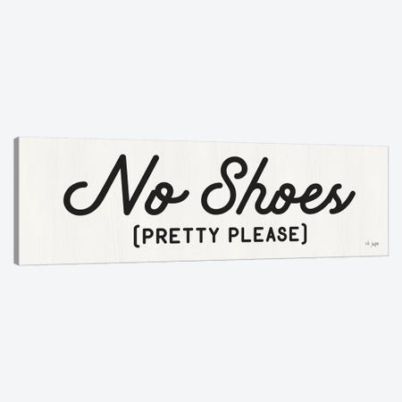 No Shoes Canvas Print #JXN34} by Jaxn Blvd. Canvas Wall Art