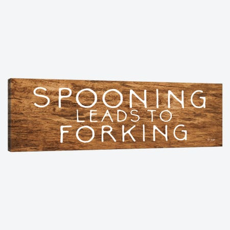Spooning Leads to Forking Canvas Print #JXN38} by Jaxn Blvd. Canvas Print