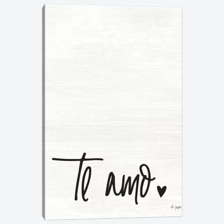 Te Amo Canvas Print #JXN39} by Jaxn Blvd. Art Print