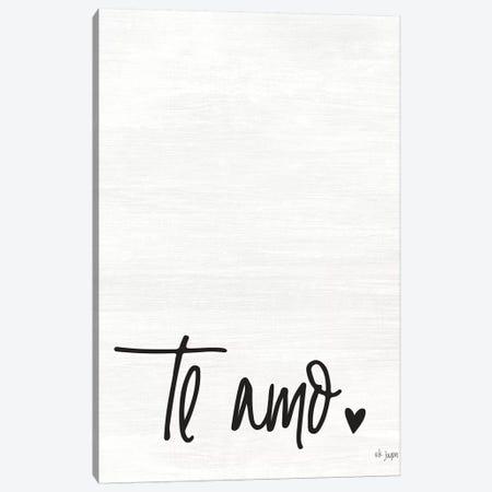 Te Amo Canvas Print #JXN39} by Jaxn Blvd. Art Print