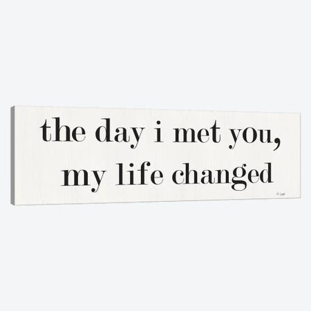 The Day I Met You Canvas Print #JXN40} by Jaxn Blvd. Canvas Art