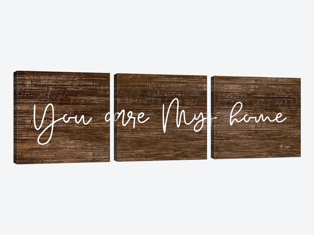 You Are My Home by Jaxn Blvd. 3-piece Canvas Art Print