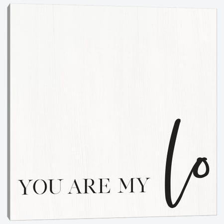 You Are My Love I Canvas Print #JXN49} by Jaxn Blvd. Canvas Art