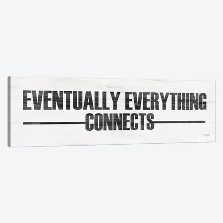 Eventually Everything Connects 3-Piece Canvas #JXN65} by Jaxn Blvd. Art Print