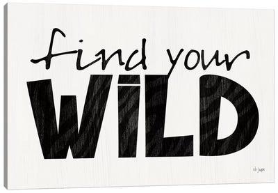 Find Your Wild Canvas Art Print