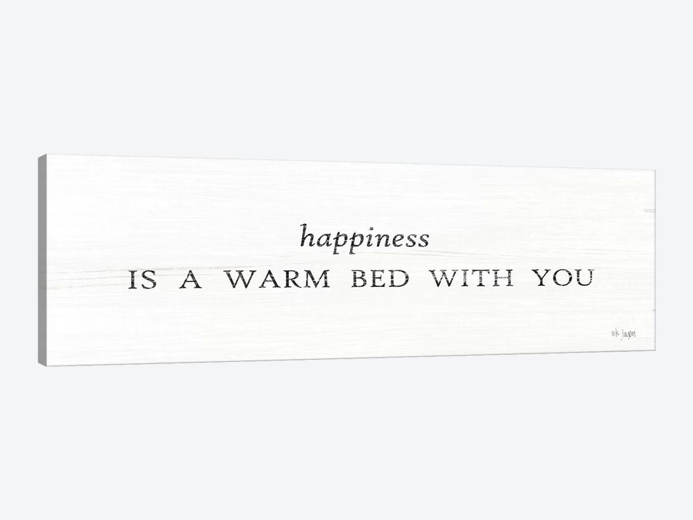 Warm Bed with You by Jaxn Blvd. 1-piece Canvas Wall Art