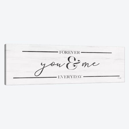 You & Me Canvas Print #JXN94} by Jaxn Blvd. Canvas Artwork
