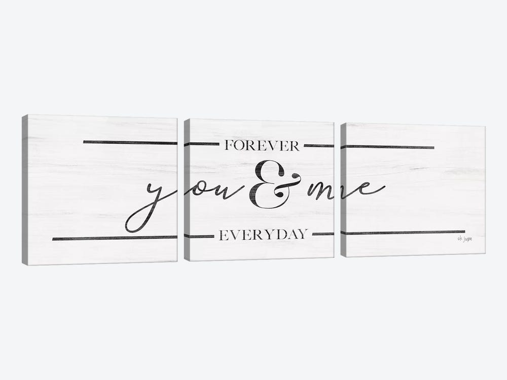You & Me 3-piece Canvas Art