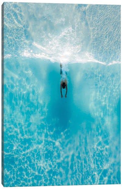 Dive Through Canvas Art Print