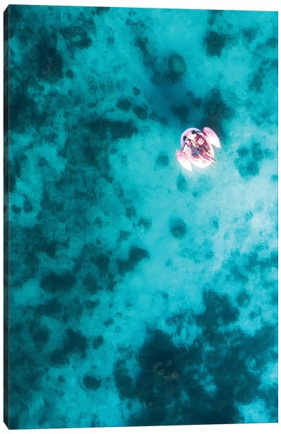 Floating In Paradise II Canvas Art Print