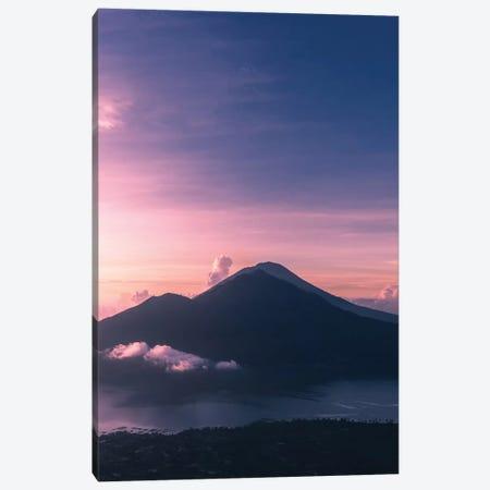 Mount Batur Sunrise Canvas Print #JXR34} by Jaxon Roberts Canvas Artwork